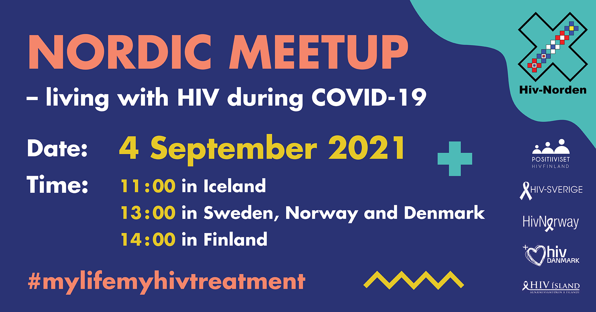 Nordic Meetup – living with hiv during Covid-19